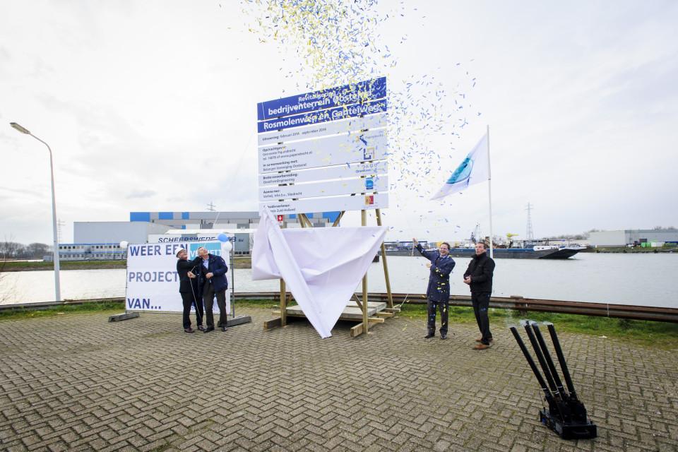 Start herinrichting Bedrijventerrein Oosteind, Gemeente Papendrecht